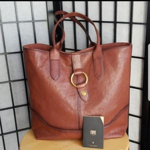 NWT Frye Leather Ring Tote